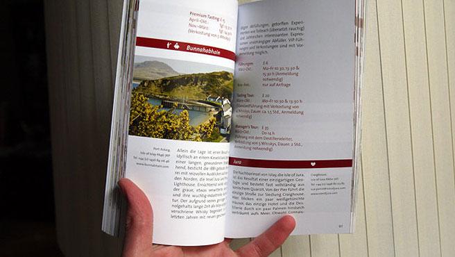 Kleines Format, aber schöne Fotos: Whisky Trails Reiseführer (Foto: Malt Whisky)