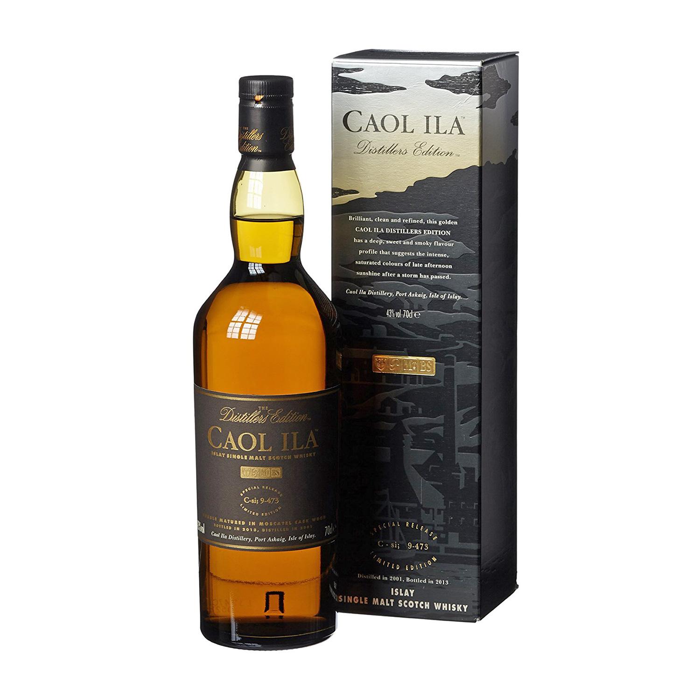 Zurückhaltendes Design, einfacher Karton bei der Caol Ila Distillers Edition (Foto: Amazon)