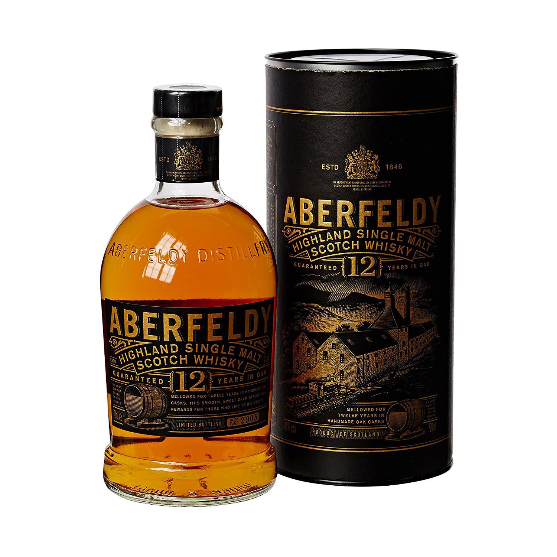 Aberfeldy 12 Jahre mit Geschenkdose (Foto: Malt Whisky)