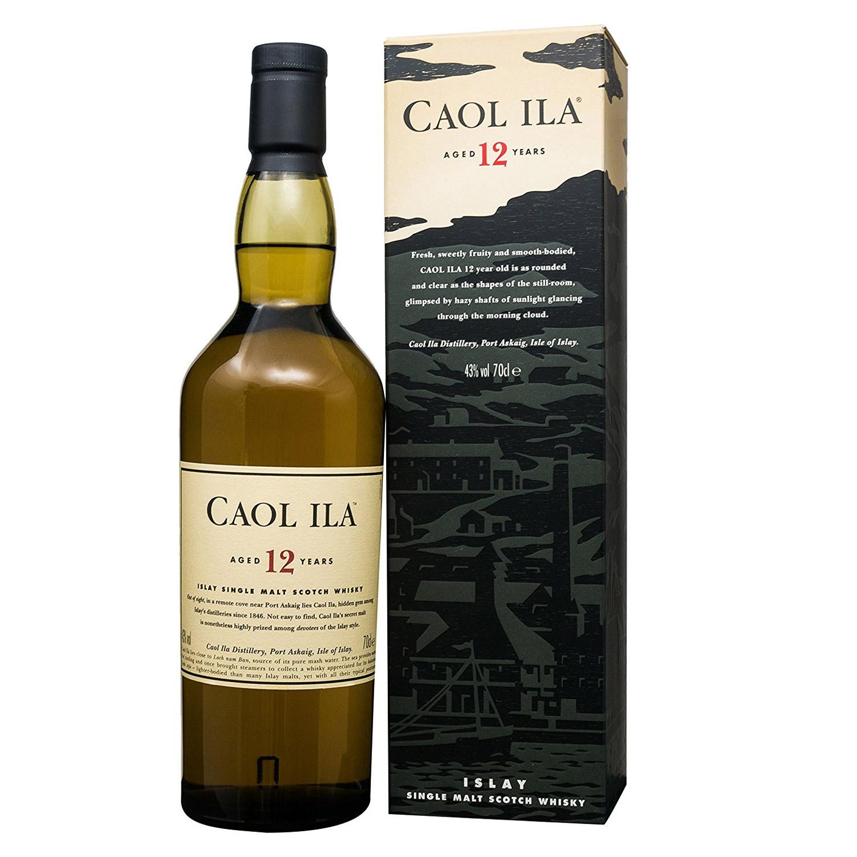 Die Destillerie Caol Ila und auch die 12jährige-Abfüllung ist etwas unterschätzt. (Foto: Amazon)