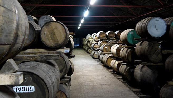 Klassisches Dunnage Warehouse von Bruichladdich. (Foto: Malt Whisky)