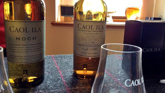 Wer nett fragt, bekommt bei Caol Ila auch ein Dram mehr... (Foto: Malt Whisky)