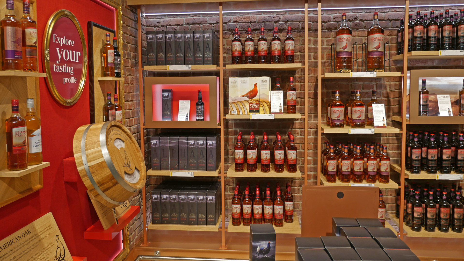 Auch bei Großhändlern und im Duty-Free eine große Nummer: The Famous Grouse. (Foto: Malt Whisky)
