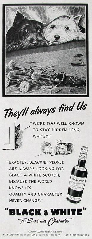 Mit solchen Anzeigen könnte man heute keinen Hund mehr hinter dem Ofen hervorlocken (Foto: Black & White)
