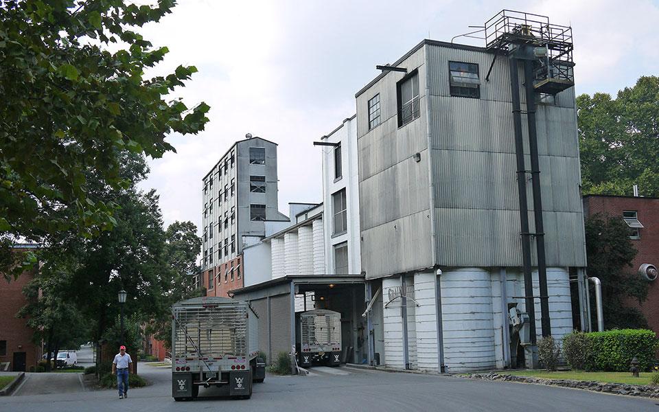 Die Jack Daniel's Distillery in Lynchburg / Tennessee (Foto: Malt Whisky)