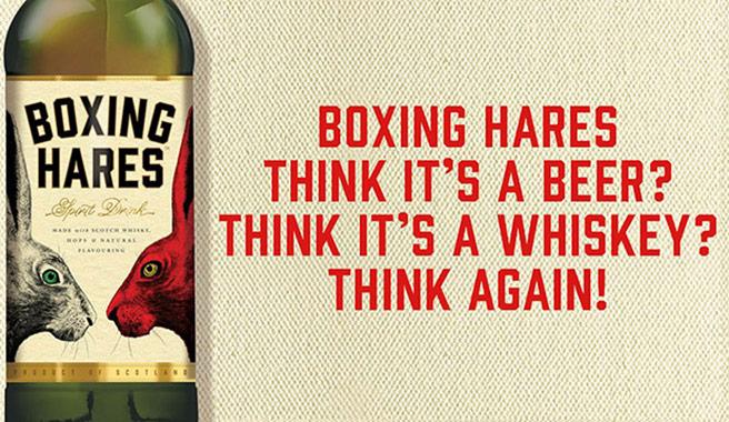 In der Werbungversucht sich Boxing Hares bewusst zwischen den Stühlen zu platzieren