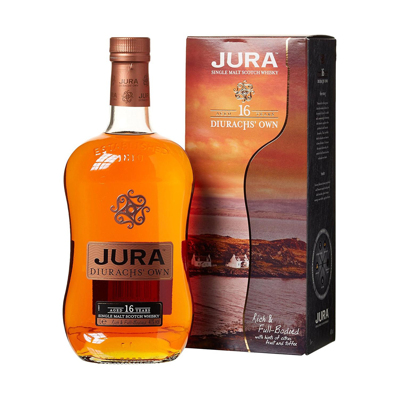 Markante Flasche: Jura 16 Jahre. (Foto: Amazon)