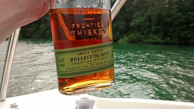 Das Design des Bulleit Rye-Whiskeys ist traditionell. (Foto: Malt Whisky)