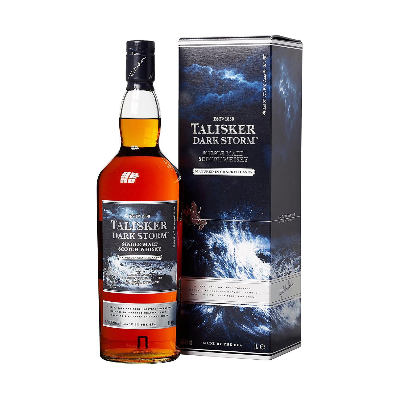 Markantes Flaschendesign: Talisker Dark Storm (Foto: Amazon)