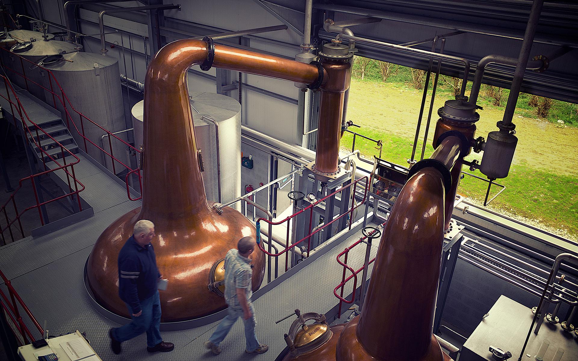 Modern ausgestattet: Die neue Wolfburn-Destillerie in Thurso (Foto: Wolfburn)