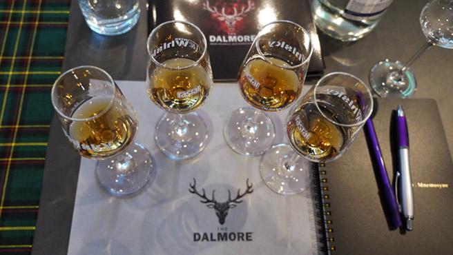 Vielleicht bald unbezahlbar? Tasting mit Dalmore-Whiskys (Foto: Malt Whisky)