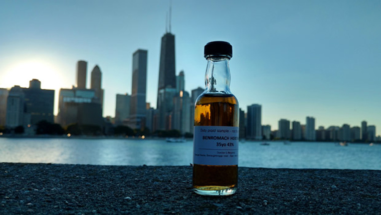 Benromach 35 Jahre vor den Wolkenkratzern Chicagos. (Foto: Malt Whisky)