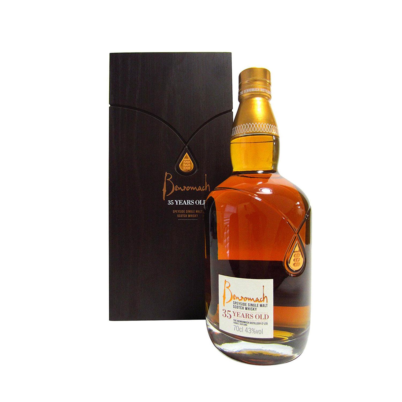 Eine Whisky-Rarität: Der Benromach 35 Jahre. (Foto: Amazon)