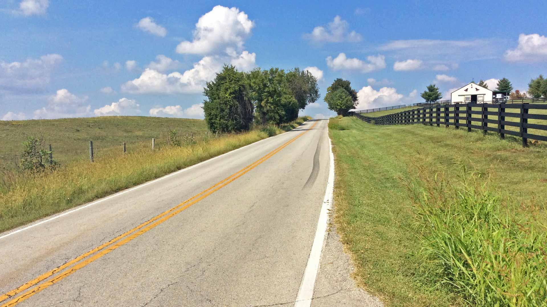 Weite Landschaften und sanfte Hügel in Kentucky. (Foto: Malt Whisky)