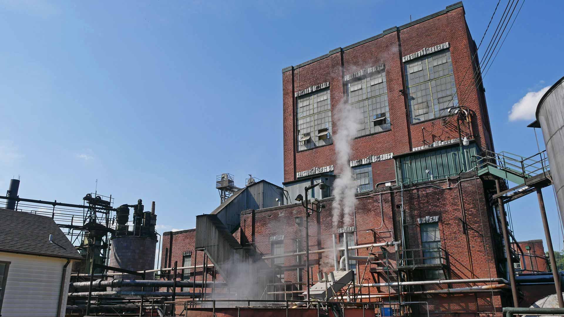 Die Destillerie von Buffalo Trace strahlt einen industriellen Charme aus. (Foto: Malt Whisky)
