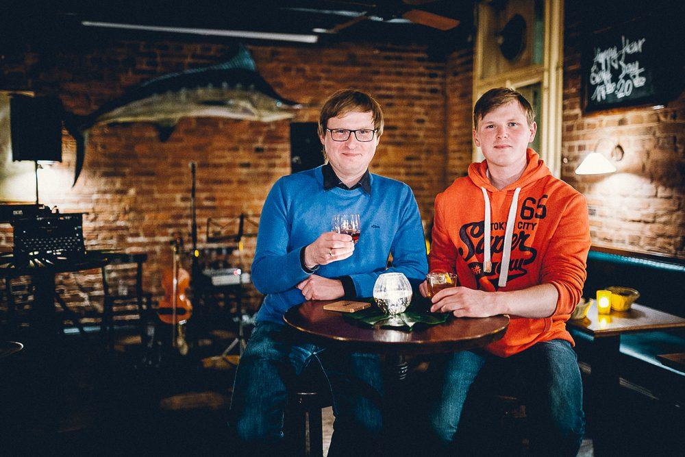 Die Malt Whisky-Gründer Lukas und Samuel (Foto: Christoph Wehrer / Mit Vergnügen)