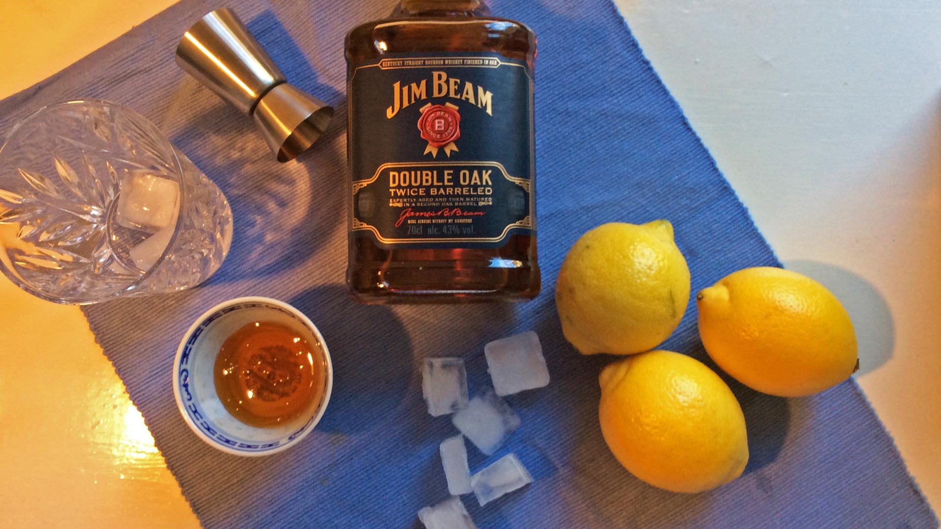 Honig, Zitronen und Double Oak für den Gold Rush. (Foto: Malt Whisky)