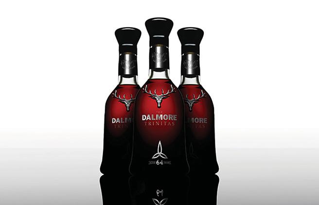 MinimalistischeFlasche: Dalmore Trinitas 64 Jahre (Foto: The Dalmore)