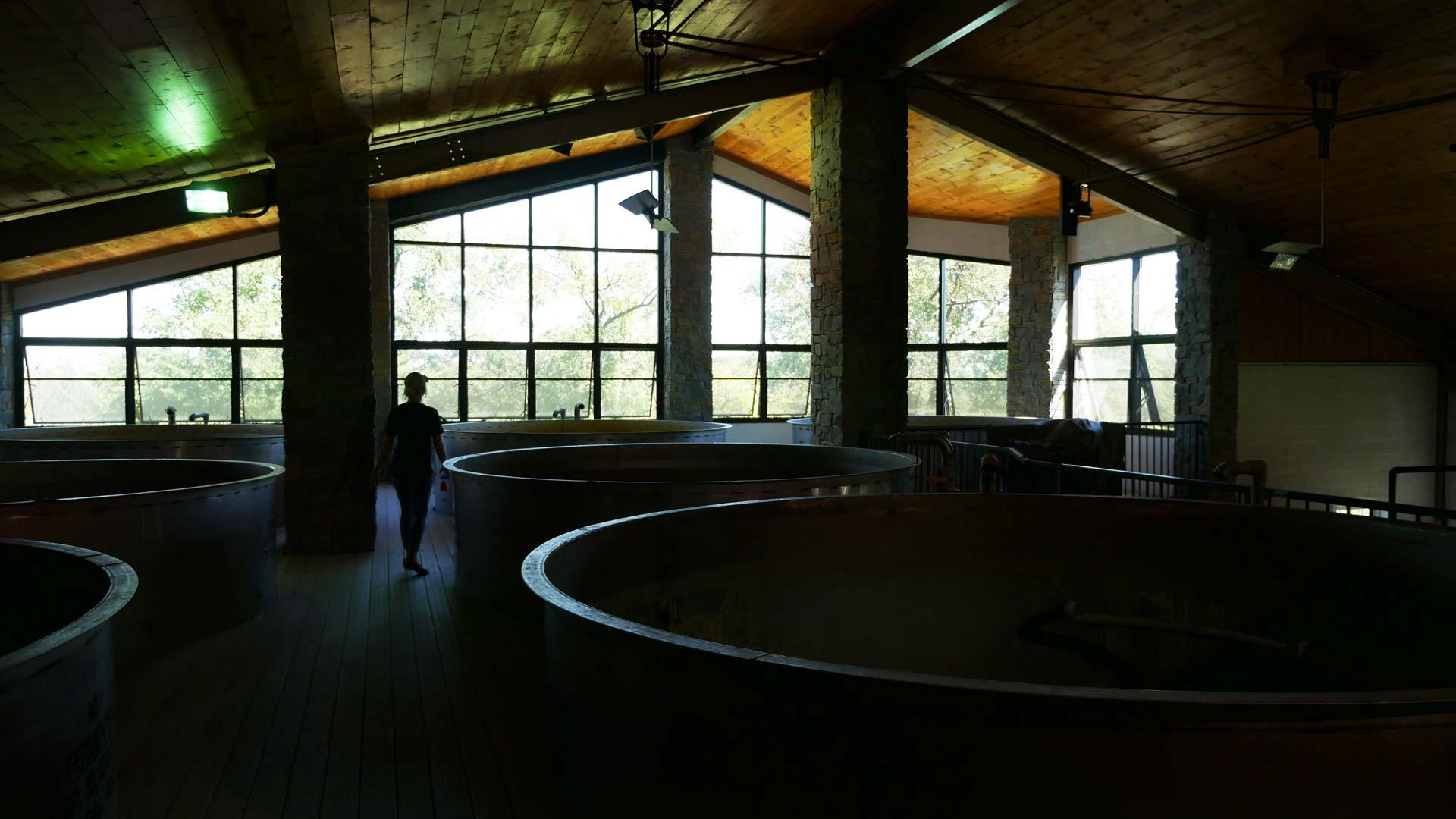 Mash Tuns bei der Willet Distillery in Kentucky. (Foto: Malt Whisky)