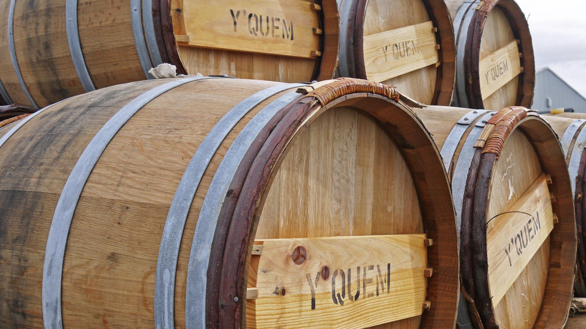 Exklusive Weinfässer des Château d'Yquem aus Frankreich werden auch für die Lagerung von Whisky eingesetzt. (Foto: Malt Whisky)