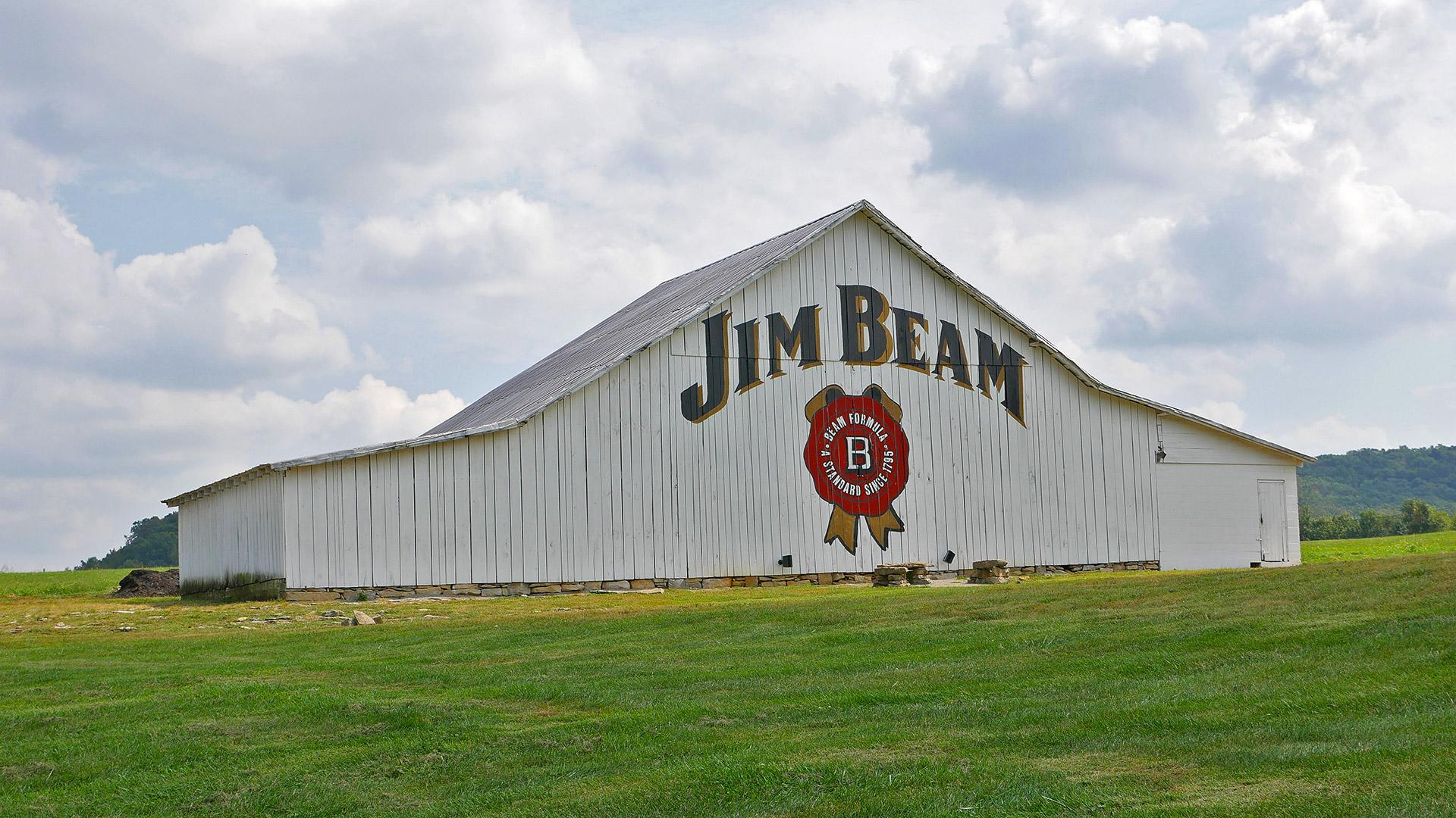 Dieser Schuppen ist Teil der Jim-Beam-Destillerie in Kentucky (Foto: Malt Whisky)
