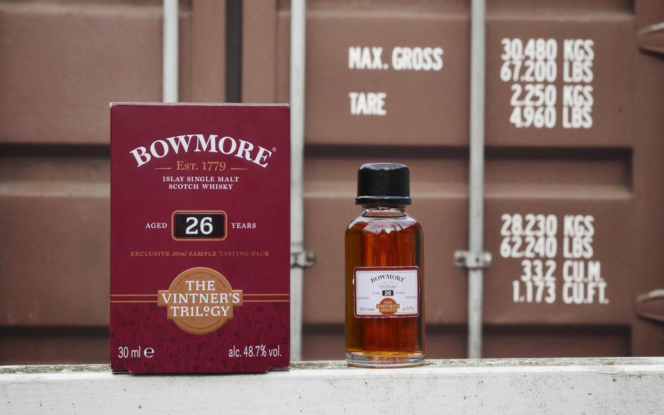 Die Bowmore-Malts werden auf der Whisky-Insel Islay gebrannt und dann per Schiff in die Welt transportiert (Foto: Malt Whisky)