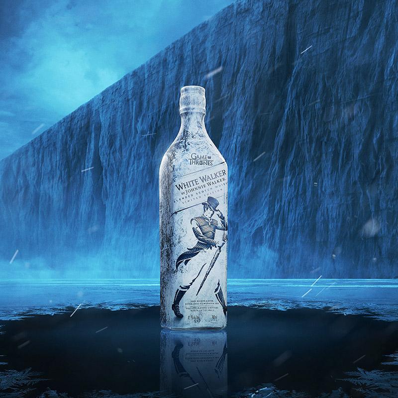 Der White Walker spaziert mit Motiven aus Game of Thrones durch das ewige Eis (Foto: Johnnie Walker)