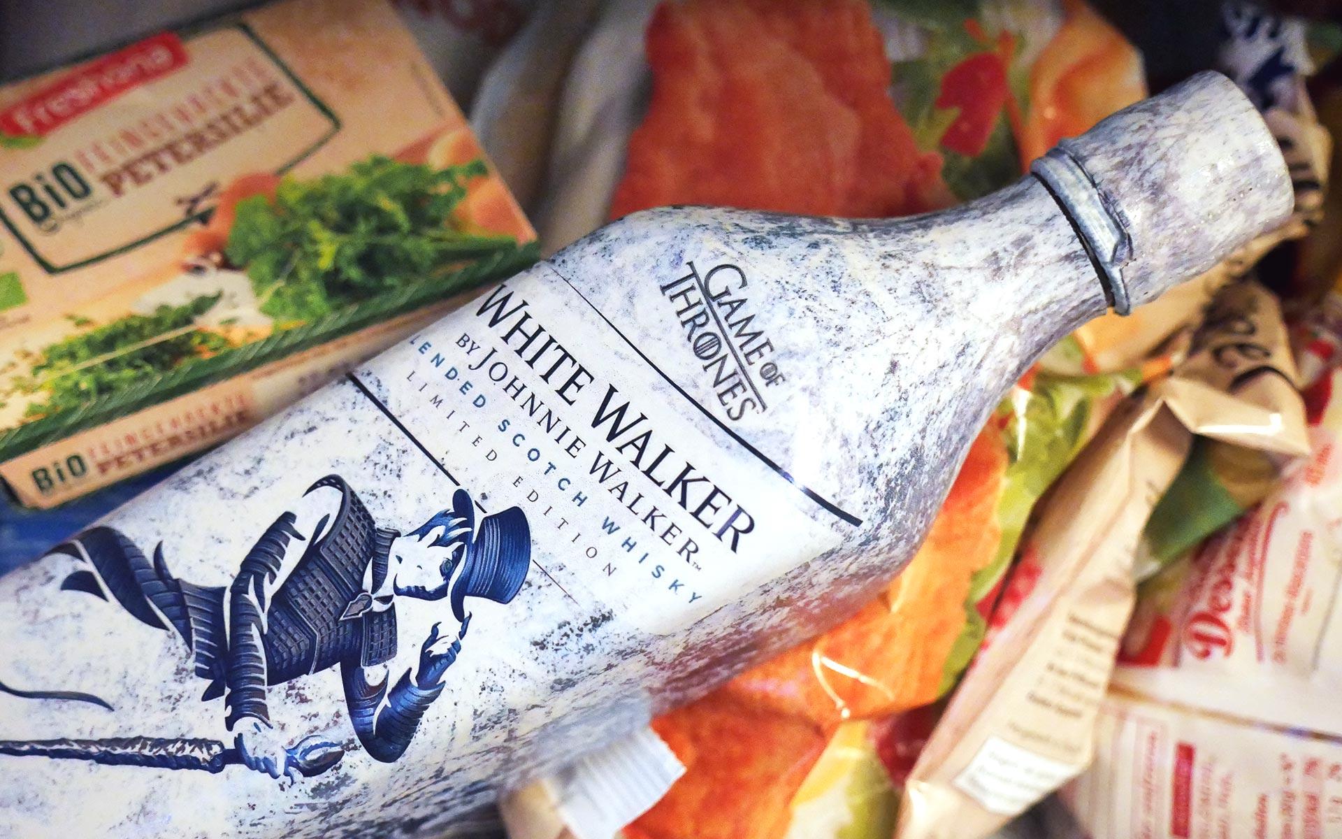 Zwischen Petersilie und TK-Schnitzel fühlt sich der White Walker laut Hersteller am wohlsten... (Foto: Malt Whisky)