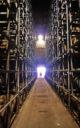 Die Realität der Whisky-Lagerung: Die meisten Fässer lagern in High-Rack-Warehouses – hier bei Bruichladdich (Foto: Lukas Bischofberger / Malt Whisky)